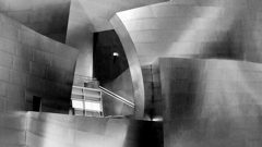 Part of Walt Disney Concert Hall in Los Angeles