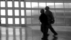 Lichter im Flughafen von Chicago