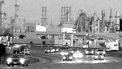 Ein Freeway nahe Los Angeles