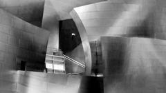 Teil der Walt Disney Concert Hall in Los Angeles