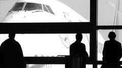 Eine 747 am Flughafen Frankfurt